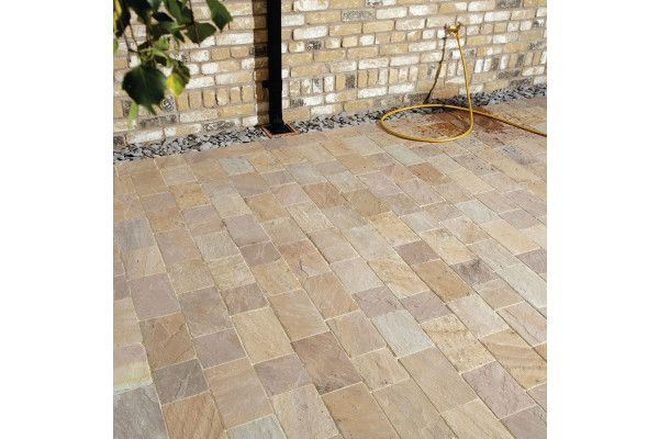 Natural Paving - Fossestone - Block Paving - Orchard - Project Pack