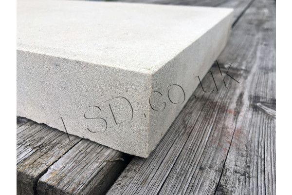 Natural Indian Sandstone - Smooth Polished Mint (Cream) - Walling Pier Caps (Individual Caps)