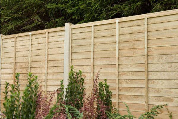 Forest - Pressure Treated SuperLap Fence Panel