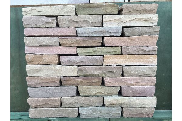 Indian Sandstone Walling - Hand Cut - Raj Blocks - (Individual Blocks)
