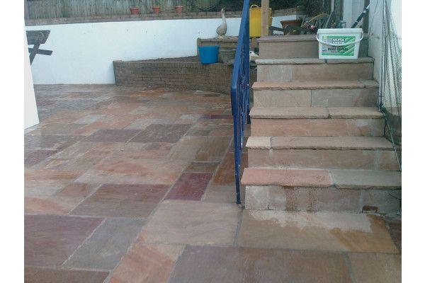 Indian Sandstone Paving - Rippon Buff - Single Sizes