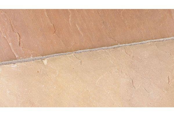 Marshalls - Riven Harena Circle - Sawn Edge - Golden Sand