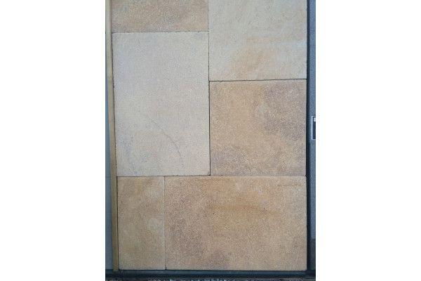 Natural Sandstone Paving - Historical Range - Roman Cream - Patio Packs
