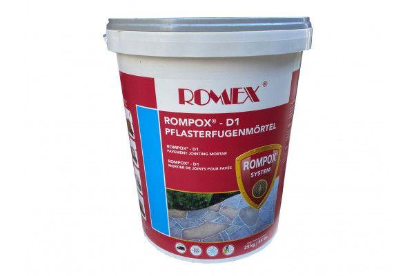 Romex - Rompox D1 - Stone Grey - Pavement Fixing Mortar Slurry 25Kg