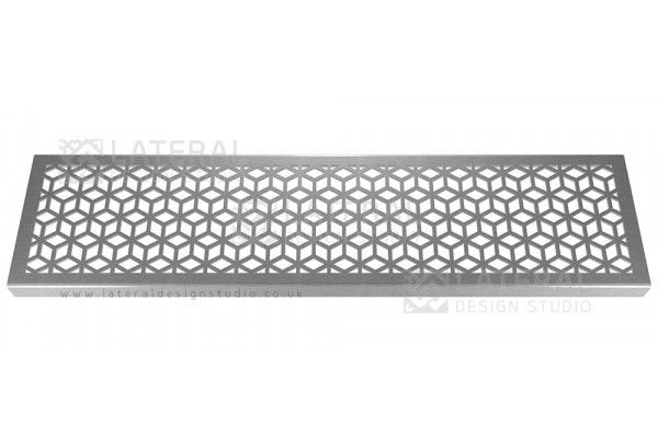 Aquascape - Drainage Channel Cover - Stainless Steel Grate - Rubix