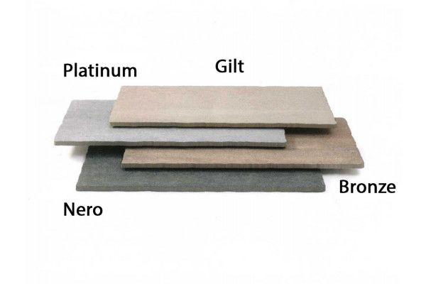Stonemarket - Foro Vitrified Paving - Bronze - 800 x 400mm