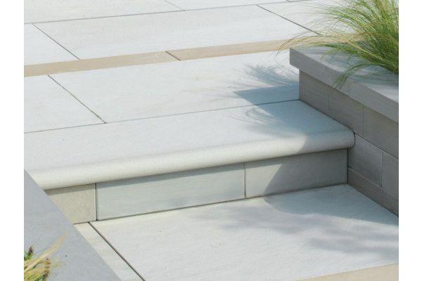 Stonemarket - Avant Garde Steps - Silver - Step Tread - Individual