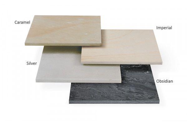 Stonemarket - Avant Garde Paving - Silver - Single Sizes (Individual Slabs)
