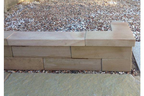 Stonemarket - Avant Garde Walling - Caramel - Blocks (Individual Blocks)