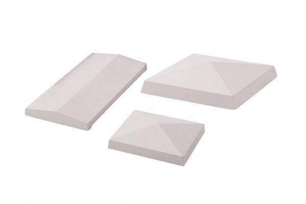 Stonemarket - White - Apex Copings and Pier Caps (Individual Copings)