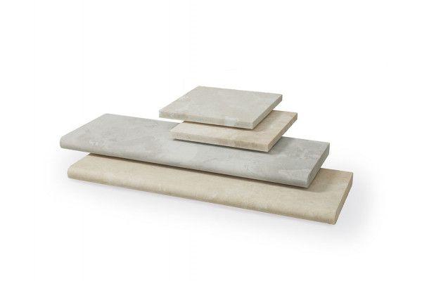 Stonemarket - Lorento Marble Paving - Perlino - Step Tread