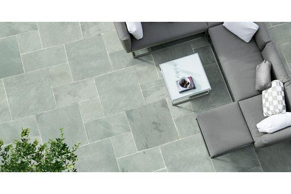 Stonemarket - Nordus Slate Paving - Gris - Single Sizes