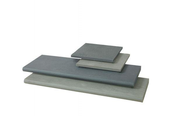 Stonemarket - Nordus Slate Paving - Schwarz - Step Tread - Individual