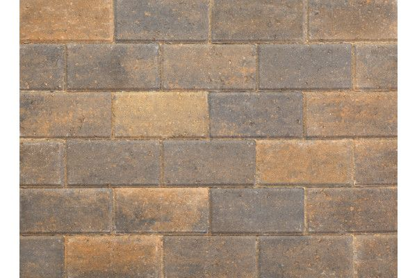 Stonemarket - Pavedrive Paviors - Burnt Ochre - 200 x 100 x 50mm
