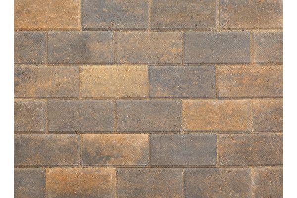 Stonemarket - Pavedrive Paviors - Burnt Ochre - 200 x 100 x 60mm