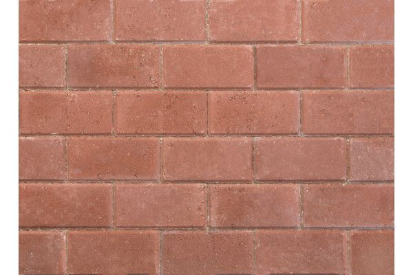 Stonemarket - Pavedrive Paviors - Red - 200 x 100 x 50mm
