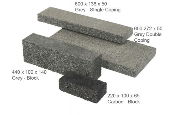 Stonemarket - Rio Walling - Grey - Coping (Individual Copings)