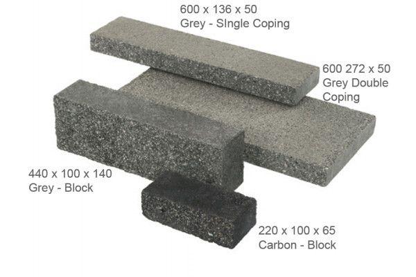 Stonemarket - Rio Walling - Silver - Coping (Individual Copings)