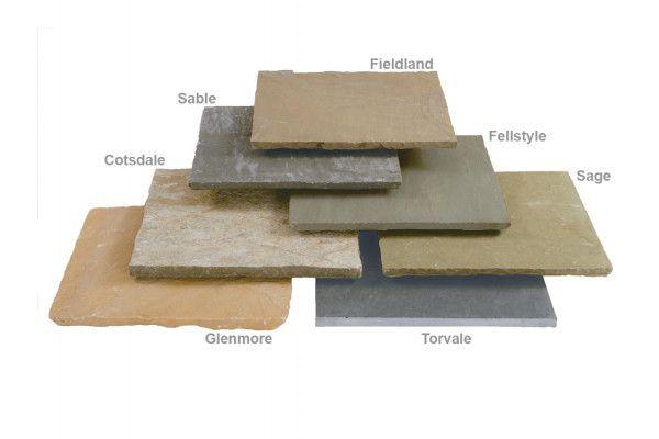 Stonemarket - Trustone Paving - Fellstyle - Single Sizes (Individual Slabs)