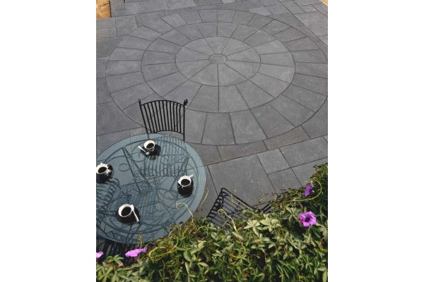 Strata Stones - Circle Collection - Classic - Black Lime Circles