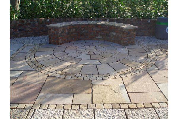 Strata Stones - Circle Collection - Classic - Camel Circles