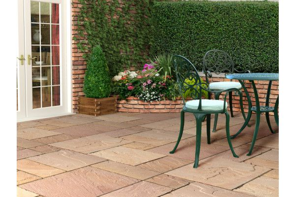 Strata Stones - Whitchurch Sandstone Collection - Modak - Patio Packs
