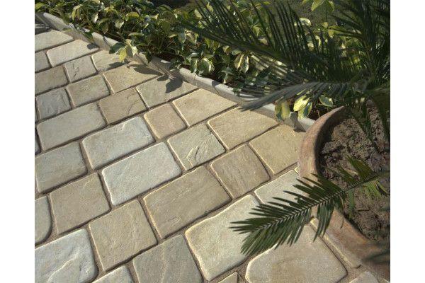 Strata Stones - Block Paving - Pave Setts - Mixed Pack - Mint