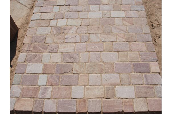 Strata Stones - Block Paving - Pave Setts - Mixed Pack - Camel