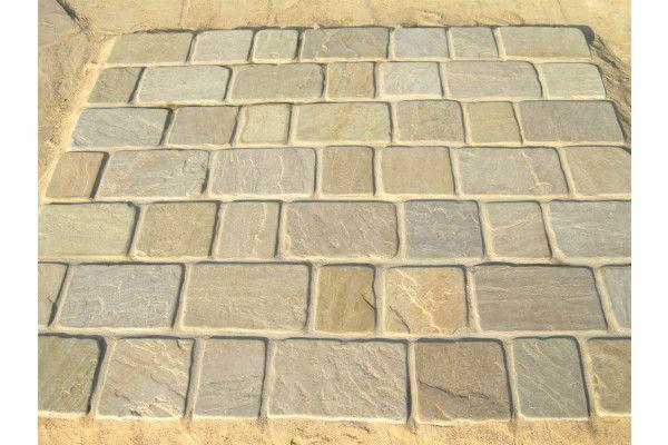 Strata Stones - Block Paving - Pave Setts - Mixed Pack - Raj
