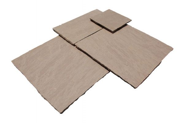 Strata Stones - Whitchurch Sandstone Collection - Autumn - Patio Packs