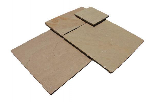 Strata Stones - Whitchurch Sandstone Collection - Raj - Patio Packs