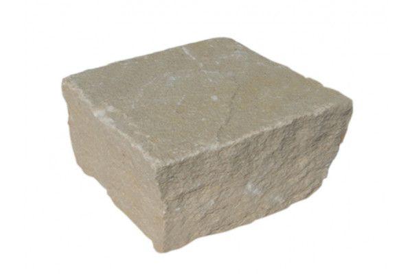 Strata Stones - Sandstone Setts - Mint - 100 x 100mm
