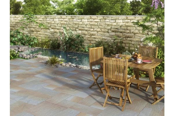 Strata Stones - Whitchurch Sandstone Collection - Glendale - Patio Packs