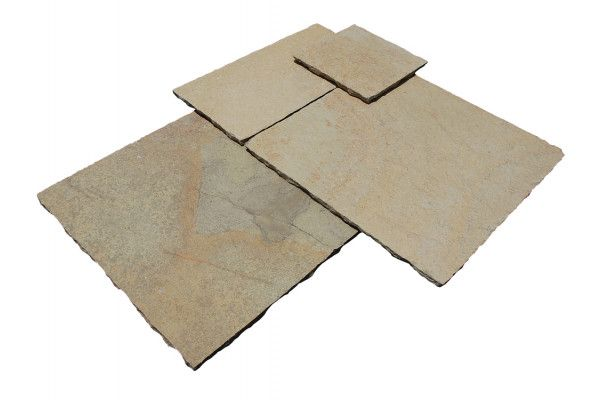Strata Stones - Whitchurch Limestone Collection - Holton Lime - Patio Packs