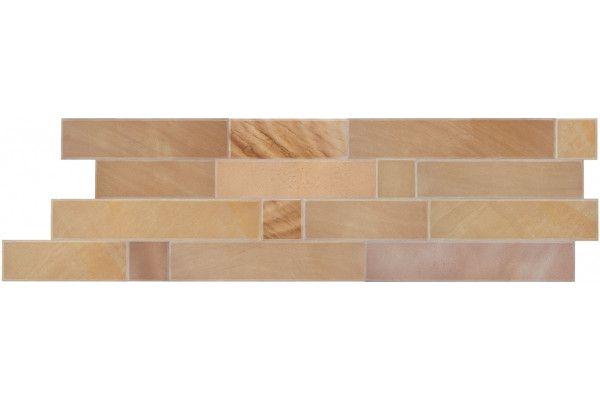 Bradstone - Natural Smooth Sandstone - Walling Slips - Sunset Buff