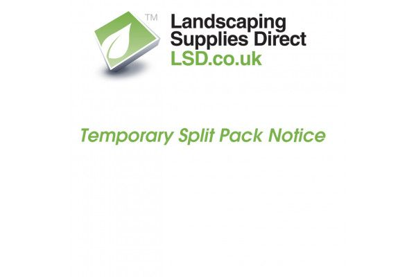 Split Pack Temporary Product Notice