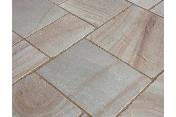 Castacrete - Tumbled Sandstone - Camel - Patio Pack