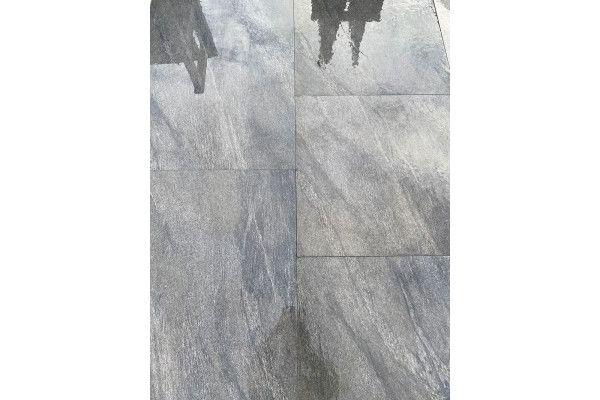 Vitrified Porcelain Paving - Vesuvius Black - Single Sizes