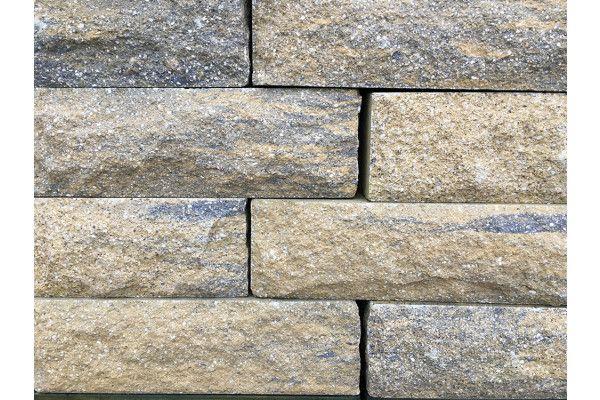 Pitched Face Walling Blocks - Weathered Buff (Individual Blocks)