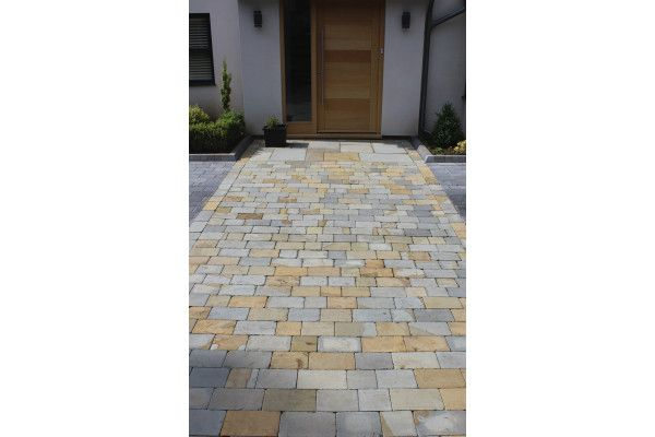 Natural Paving - Fossestone - Block Paving - Old York - Project Pack