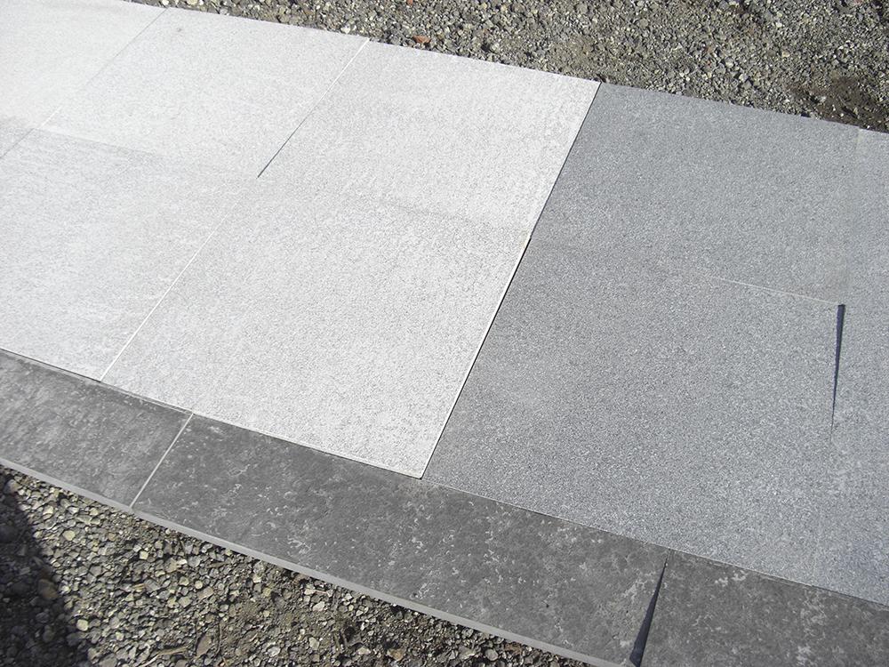 Natural Granite Paving Black 800 X 200mm Sale On Paving