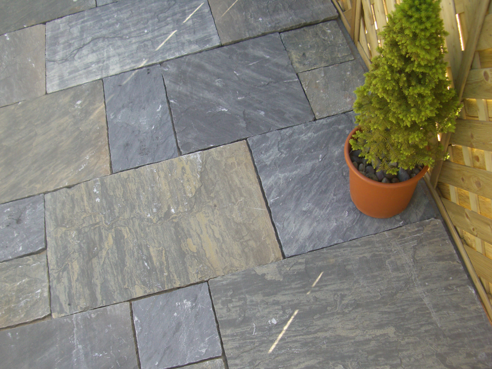 garden planters railway sleepers with Indian Sandstone Paving Sagar Black Charcoal Patio Pack on Stonecraft Paving Slabs Textured Buff also Cheap Paving Slabs Riven Black 450 X 450mm in addition Natural Granite Paving Dark Grey Patio Pack furthermore Planter Box also Square Floating Oak Coffee Table.