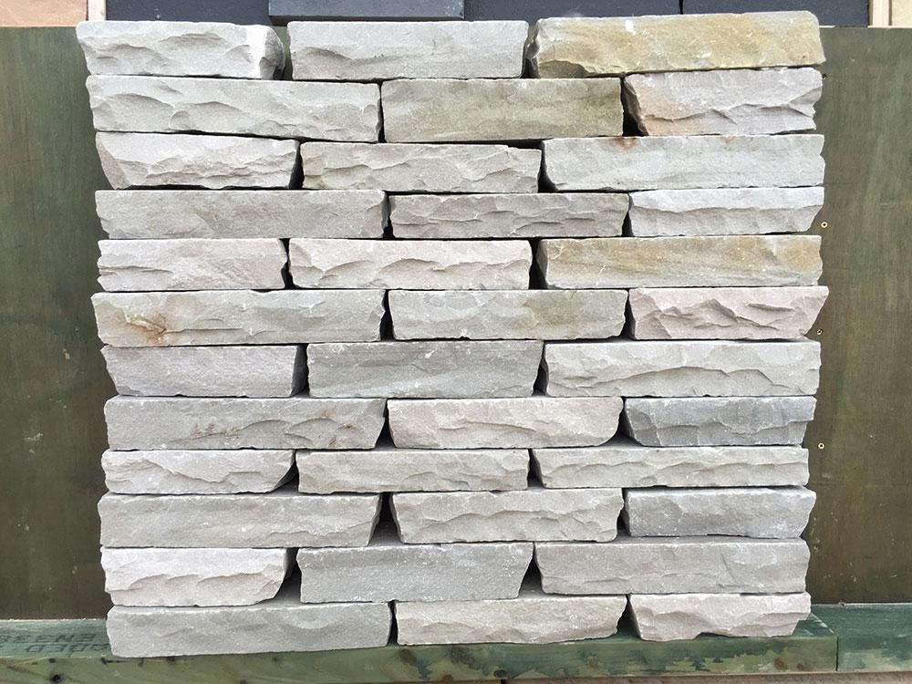 Cut Sandstone Blocks : Grey sandstone blocks hand cut natural buy