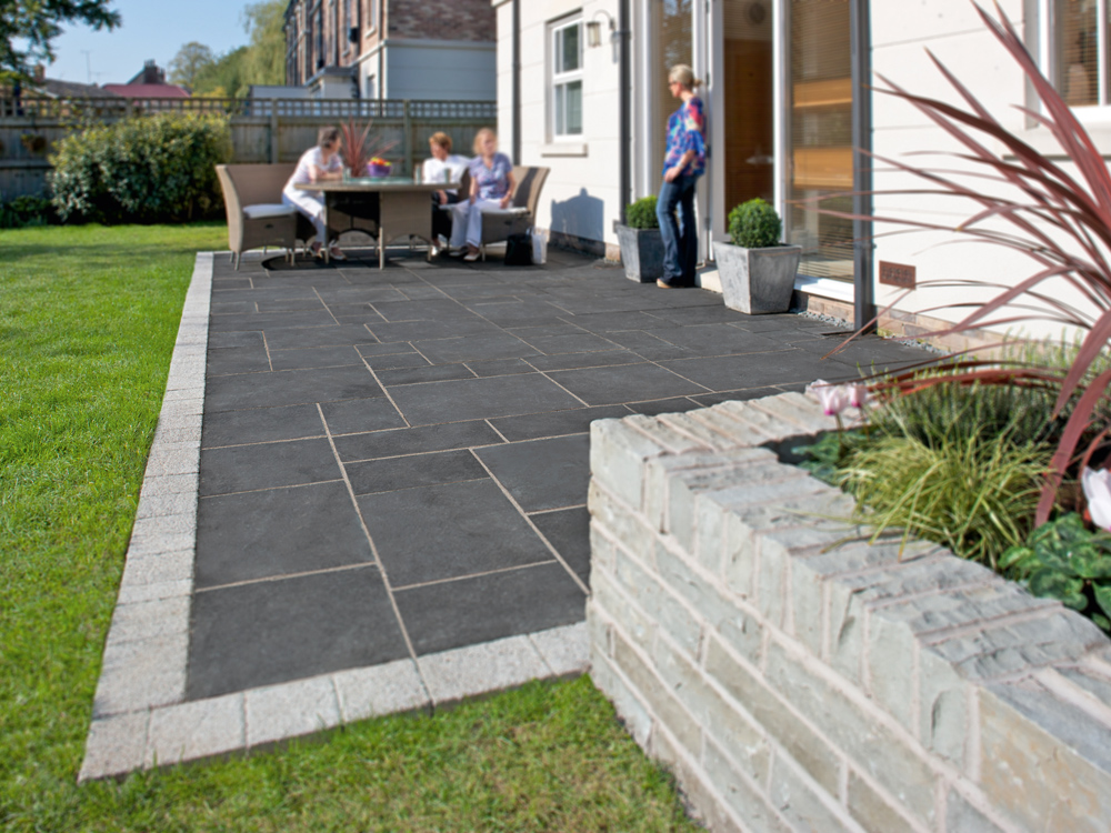 Fairstone Indian Limestone Paving Charcoal Project Pack