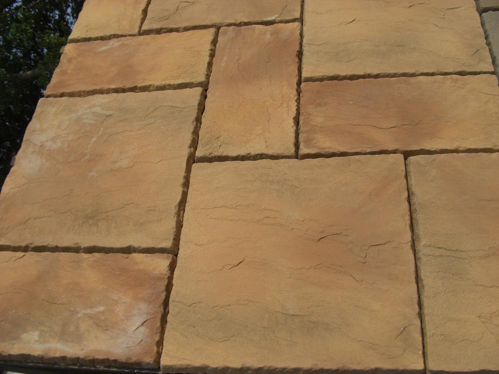Rutland Paving Mellow Stone Oakham Pattern Patio Pack