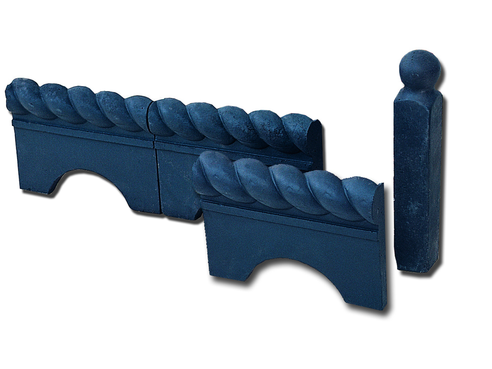 Stonemarket Victorian Edgings Midnight Blue Rope Tops