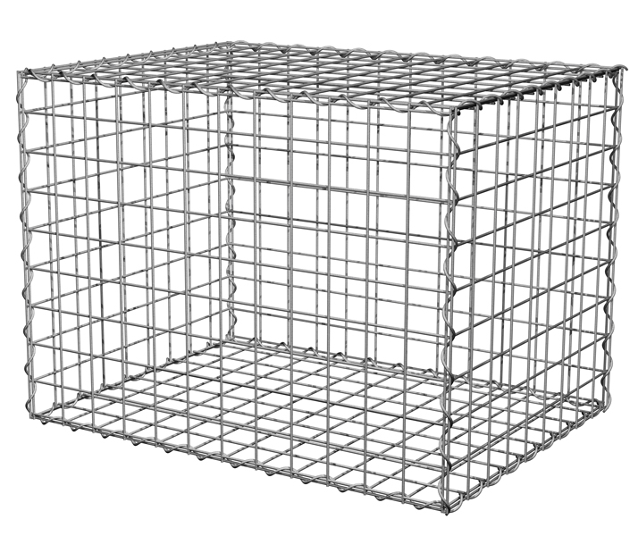 Gabion Basket Cubes Hot Dipped Metal Mesh Rock Containers