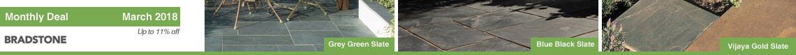 March 2018 Special Offer - Bradstone Slate Paving