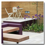 Urban Garden Paving Ideas