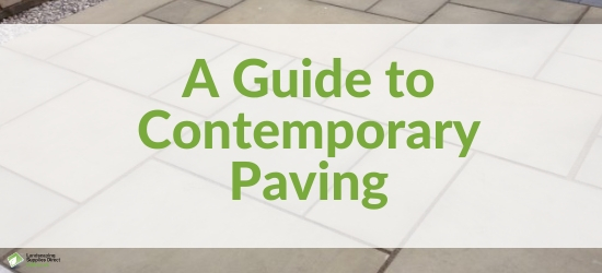 Guide to Contemporary Paving